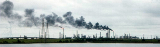 Emission from refineries