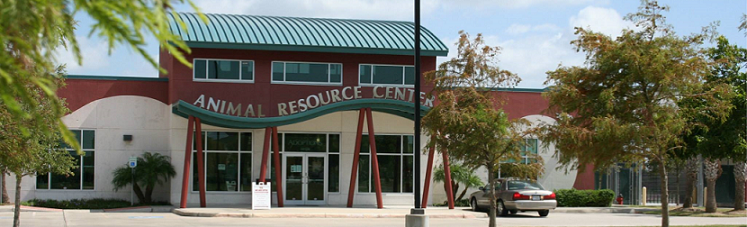 Picture of front of Animal Resource Center