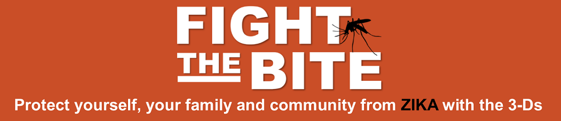 "Image reading ""Fight the Bite"""