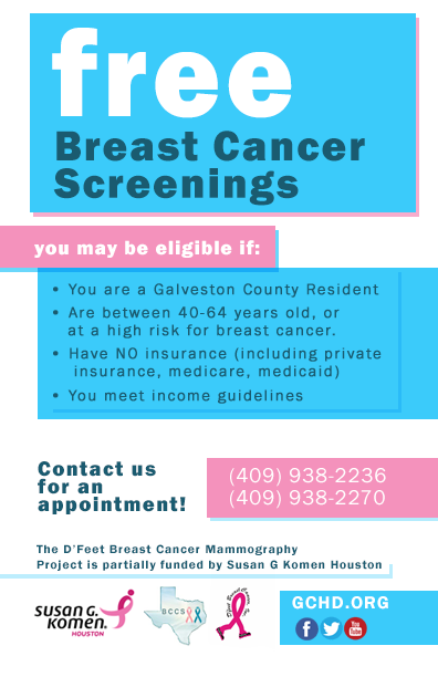 Breast Cancer Flyer updated 2018