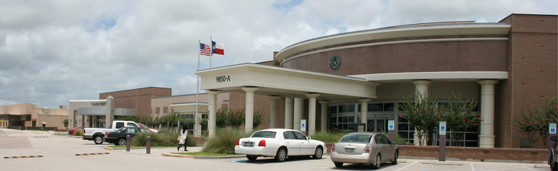 Exterior of Mid-County Annex