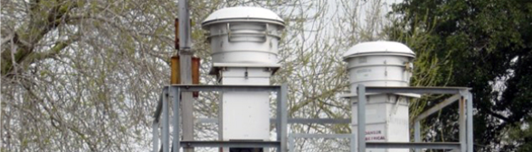 Air pollution monitoring station