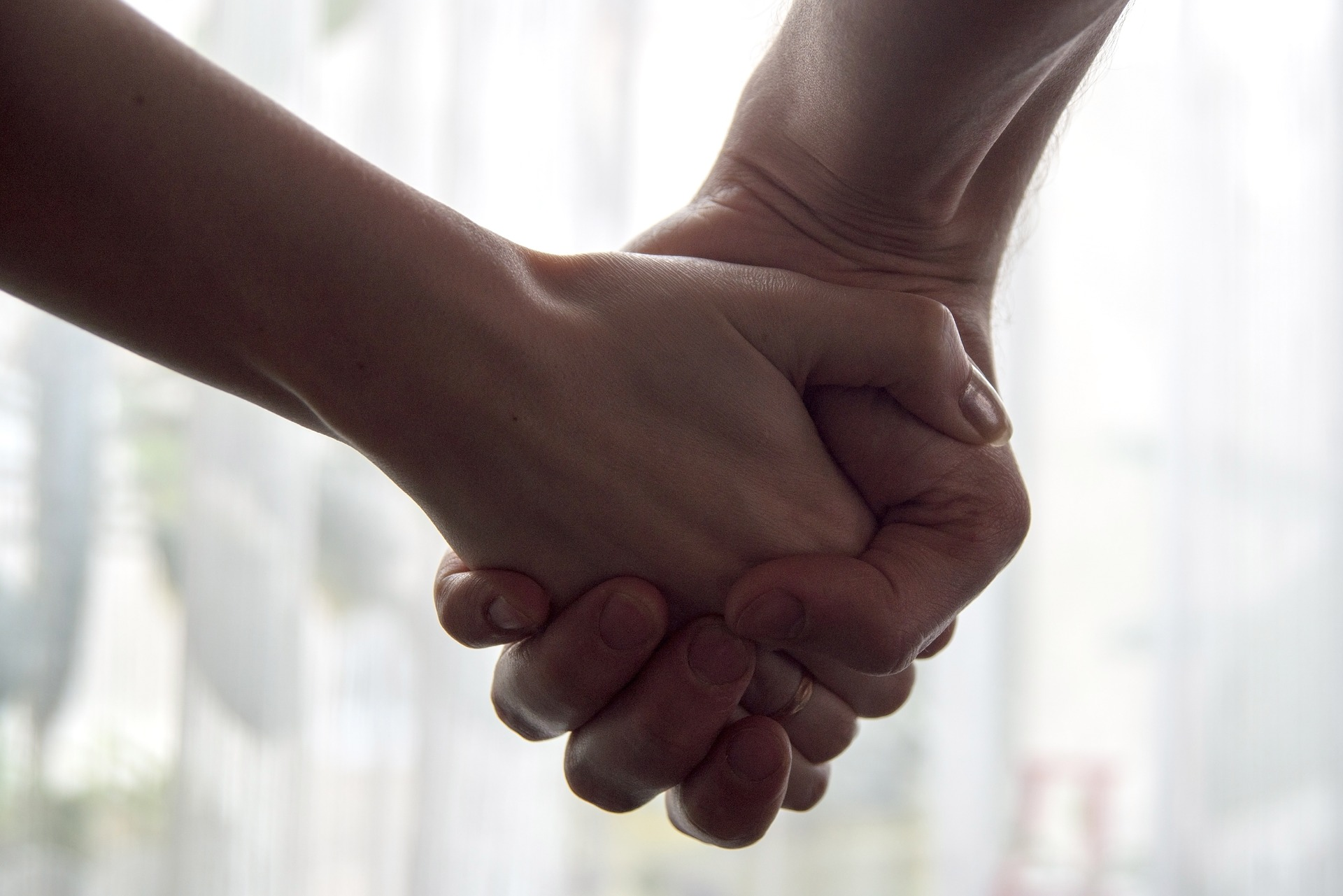 Mental Health Hand Holding Support